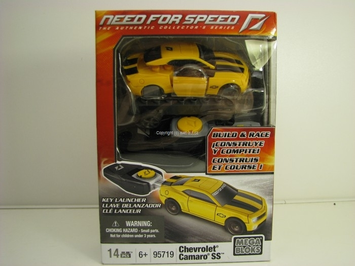 Stavebnice Mega Bloks Chevrolet Camaro SS For Speed 95719